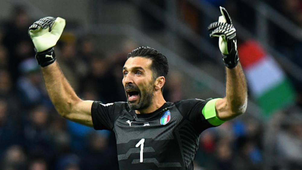 Buffon back for Italy in friendlies (2)