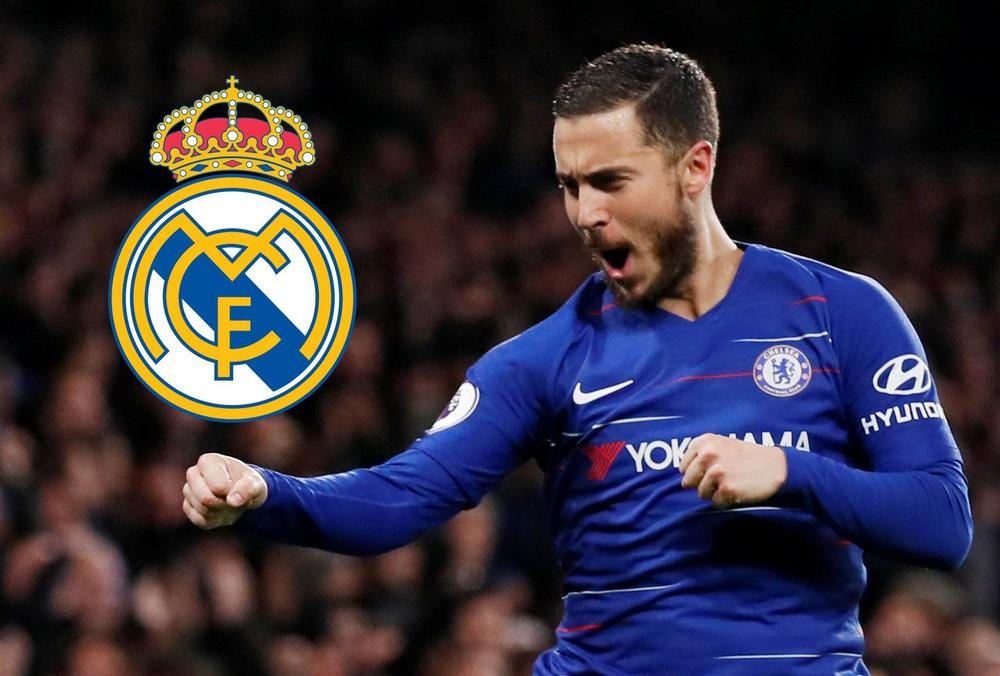 Eden Hazard Chelsea Real Madrid