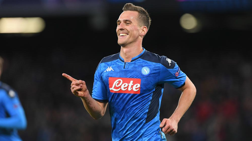 Milik Hat-Trick Helps Napoli Clinch Last-16 Spot in 4-0 Win Over Genk