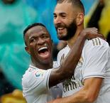 Benzema double secures nervy Madrid win