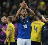 Ref justice! Bonucci cries foul after suffering broken nose against Sweden