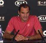 Roger Federer talks about the difficulties faced in Australian OPEN