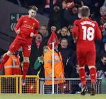 English League Cup: Liverpool 2 Leeds United 0