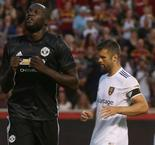 Real Salt Lake 1 Manchester United 2: Lukaku opens his account as Valencia sees red