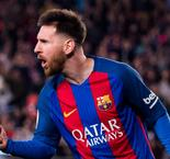 Messi at the double as Barca downs 10-man Valencia