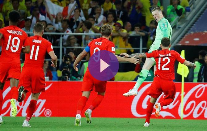 a2fdf4f0d 2018 FIFA World Cup- Colombia 1 England 1 (England win 4-3 on  Penalties)-Live Updates! Live Streaming Information