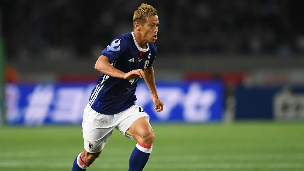 f5ed393b3 Honda joins Pachuca after leaving AC Milan