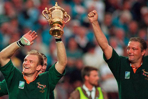 Rugby World Cup: South Africa (2 titles)
