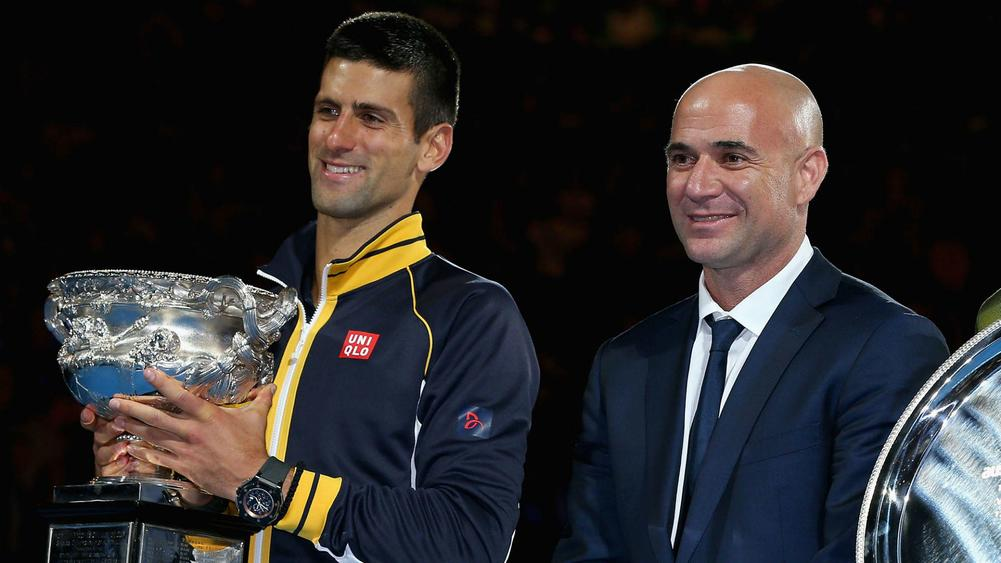Boris Becker says Novak Djokovic and Andre Agassi can strike positive partnership