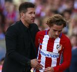 "Simeone ""Grateful"" For Griezmann's Time At Atletico Madrid"
