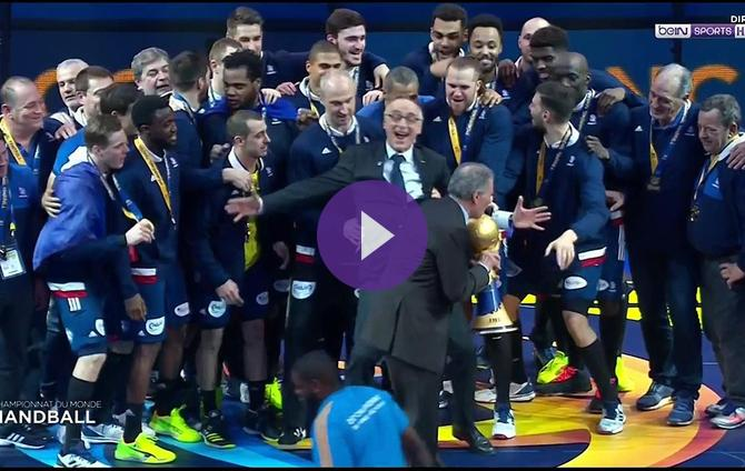Handball 2017 et de six pour la france - Resultat handball en direct coupe d afrique ...