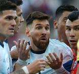 Messi sees red as Argentina takes third