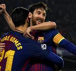 Messi hits 100 as Barca breezes into last eight