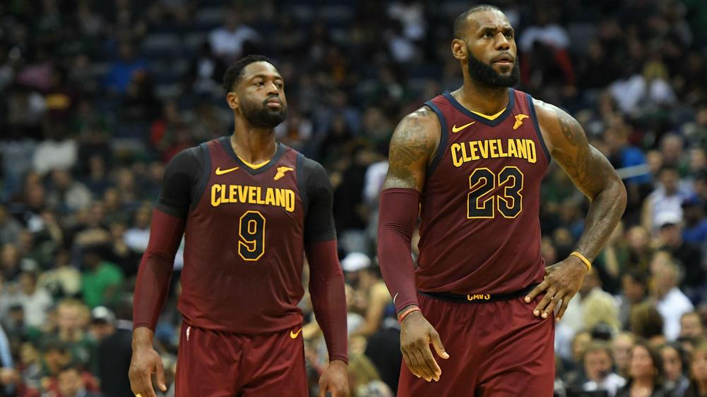 Cavs trade Wade to Miami; LeBron says good-bye