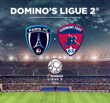 Ligue 2 : Paris FC - Clermont en direct vidéo