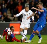 International Friendly:France 2 Iceland 2
