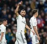 Benzema strike makes it three in a row for Madrid