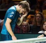Freak eye injury forces Goffin out in Rotterdam