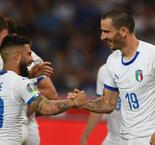 Italy claims dominant win over Greece