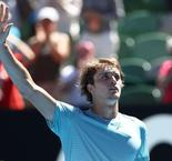 Zverev progresses to the second round after tough encounter against Thomas Fabbiano