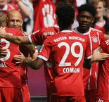 Robben stars as Bayern bids farewell to legends