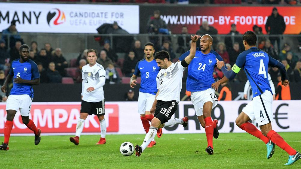 Lacazette Nets Brace As France Hold Germany