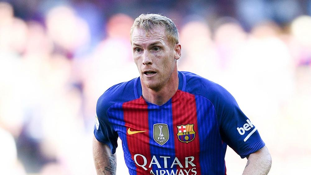 Barcelona confirm Mathieu exit after allowing him to train with Sporting