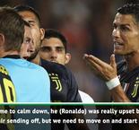 Allegri rues 'unfair' Ronaldo red card