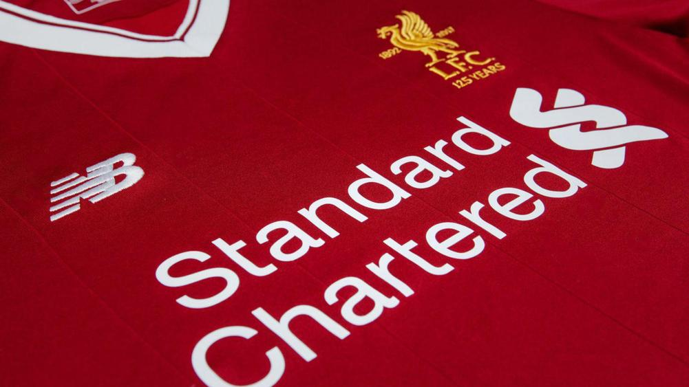 9c7f7397e Liverpool present new kit and crest to mark 125th anniversary