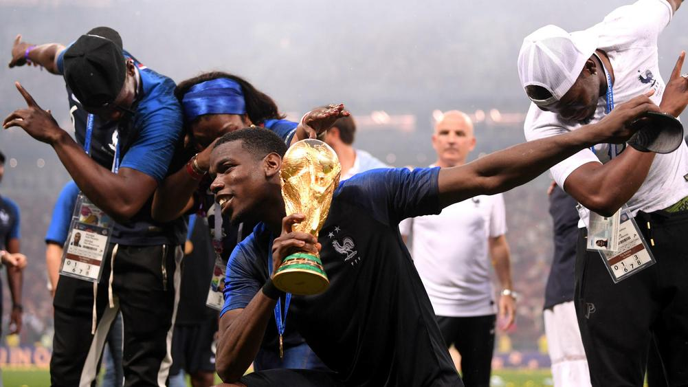 Pogba Showed Leadership With Rousing Speech Before France Played Argentina