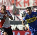 Barros Schelotto's first Superclasico ends goalless