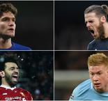 PFA Premier League Team of the Year in Opta numbers