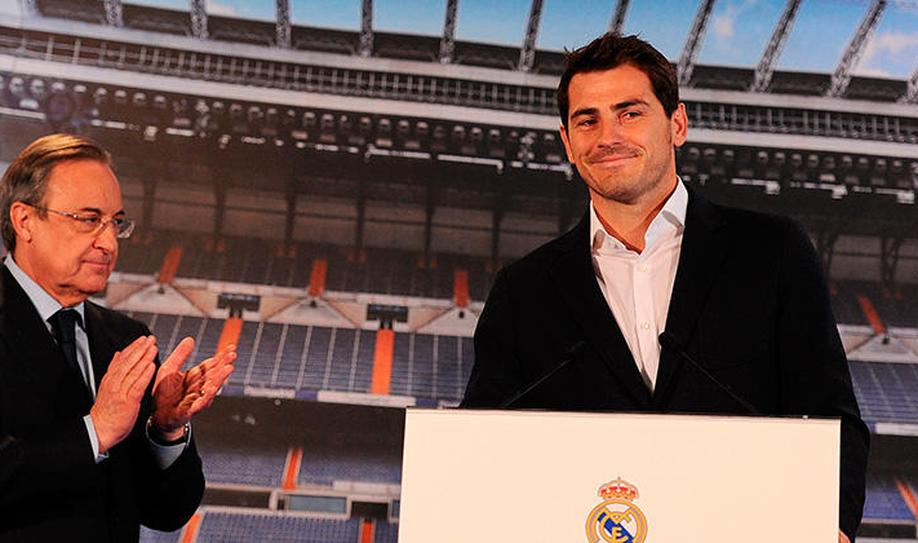 Iker Casillas' Real Madrid Emotional Farewell