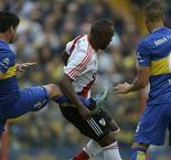 Boca Juniors 0 River Plate 0: Perez sees red in dour Superclasico