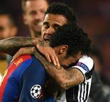 Bittersweet Feeling For Dani Alves After Juventus Eliminate Barcelona