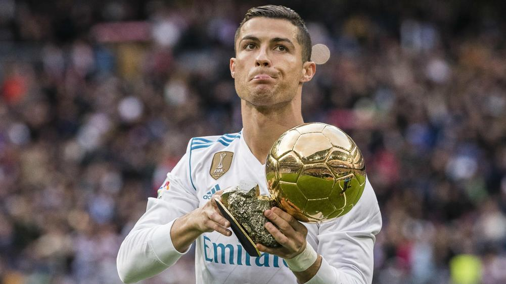 Ronaldo: I'm content with five Ballons d'Or