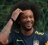 Marcelo trains with Brazil ahead of Mexico clash