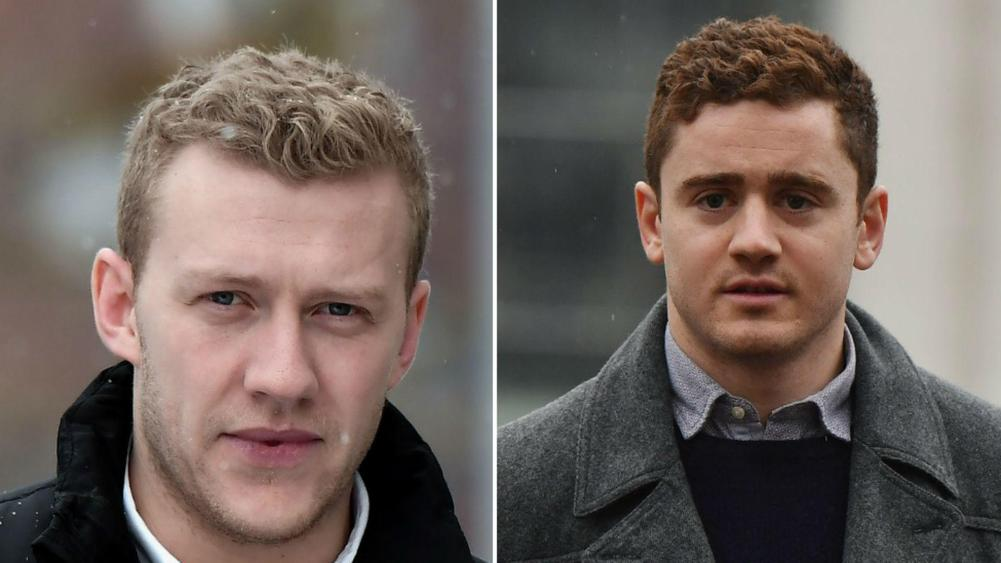 Belfast rape trial: Jury ends first day of deliberations