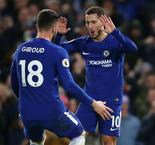 Hazard at the double as Chelsea downs West Brom