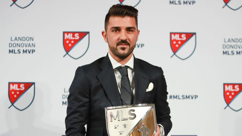 David Villa wins MLS MVP