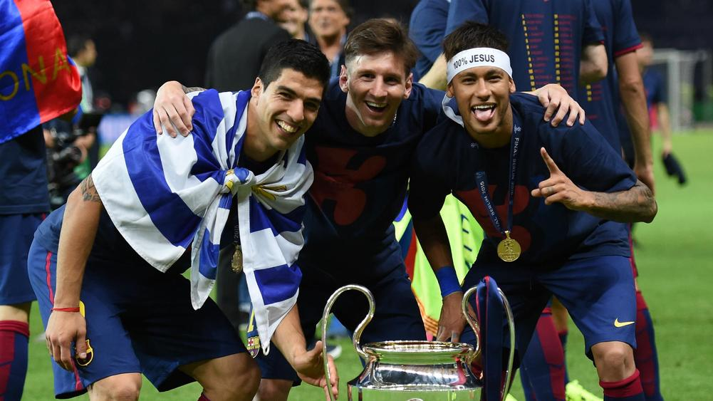 Messi, Suarez and Neymar do not have any ego - Pique
