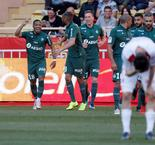 Saint Etienne Climb Third With 3-2 Win Over Monaco