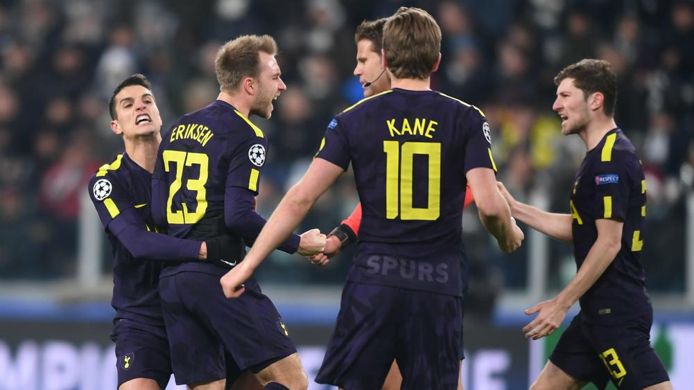 Eriksen Completes Comeback to Give Tottenham Edge Over Juventus