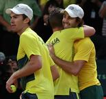 Australia and France close in on Davis Cup final