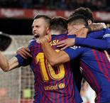 Barca hit Sevilla for six to book semi-final place