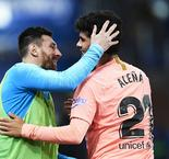 Deportivo Alaves 0 Barcelona 2: Alena and Suarez put champions-elect on brink of title