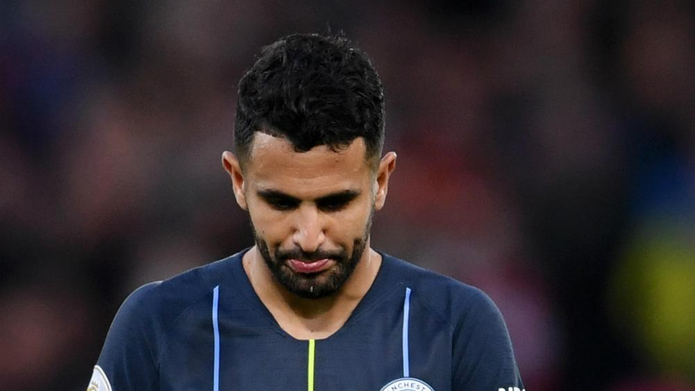Mahrez deflated by Anfield penalty miss - Stones