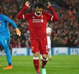Salah Shines For Five-Goal Liverpool But Late Goals Offer Roma Hope