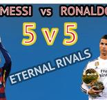 VIDEO: Head to Head Ronaldo vs Messi