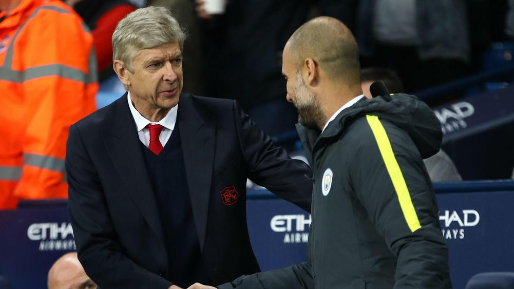 arsenewengerpepguardiola - Cropped